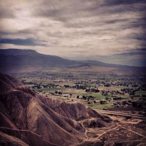 Over Looking The Grand Valley